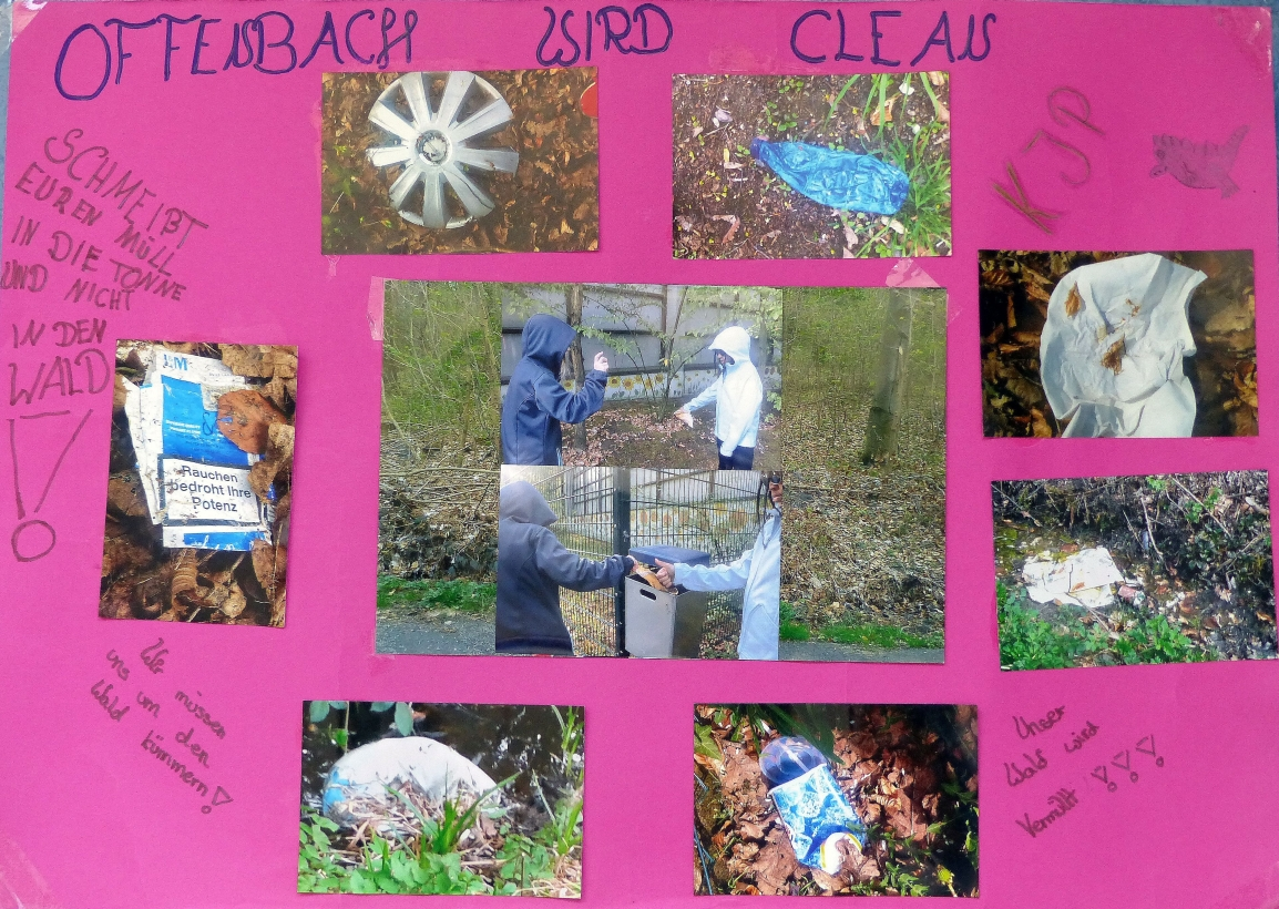 """Aktion """"Müllentsorgung"""""""