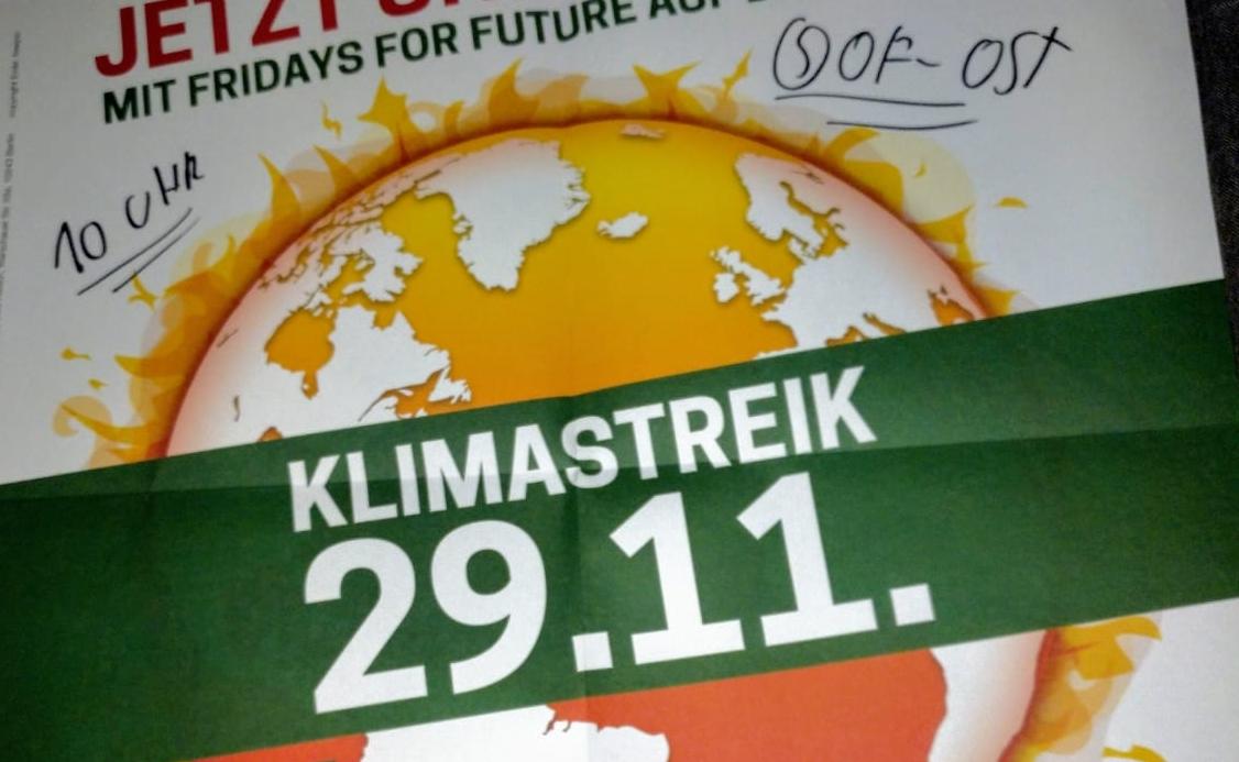 Internationaler Klimastreik in Offenbach 29.11.