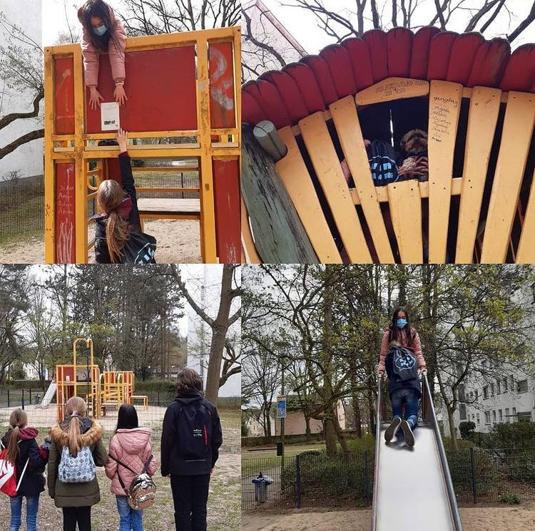 KJP und Stadt Offenbach gestalten Spielplatz um