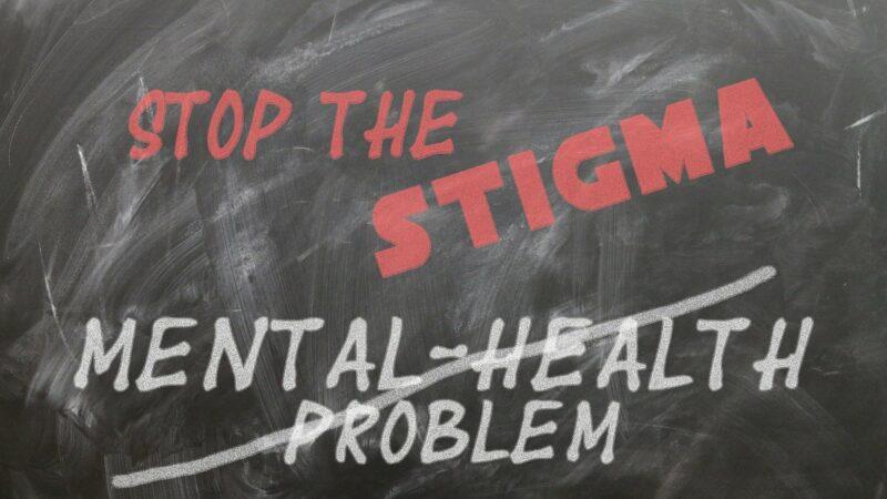 Kreidebild Stop the stigma